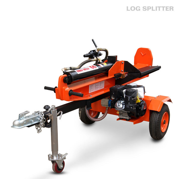 Industrial 18 ton gas power log splitter with Splitting table hydraulic ram