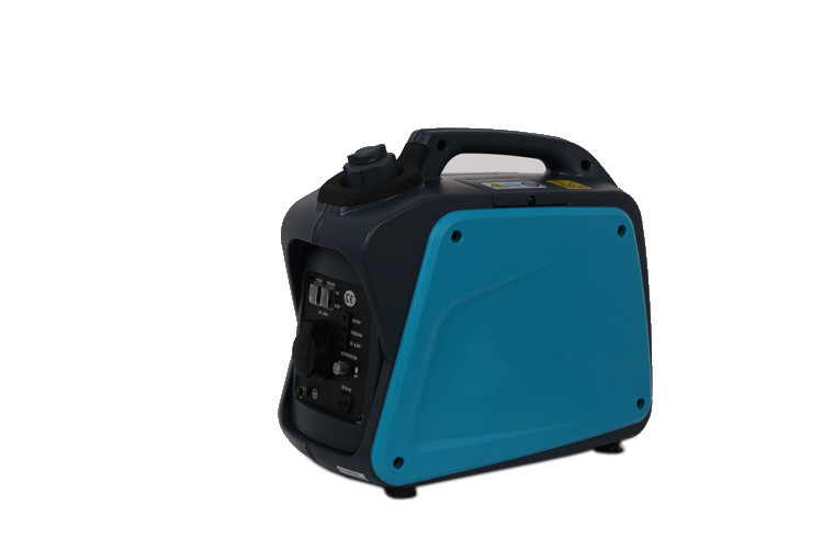 Silent Recoil Start Portable Gasoline Generator 1000W Inverter Low Niose